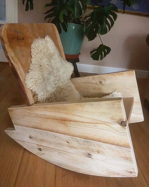 handmade-wooden-rocking-chair